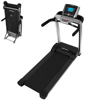 Life Fitness F3 Basic Folding Treadmill